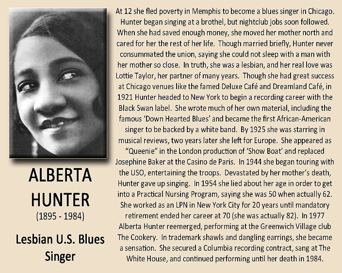 Alberta Hunter Biography