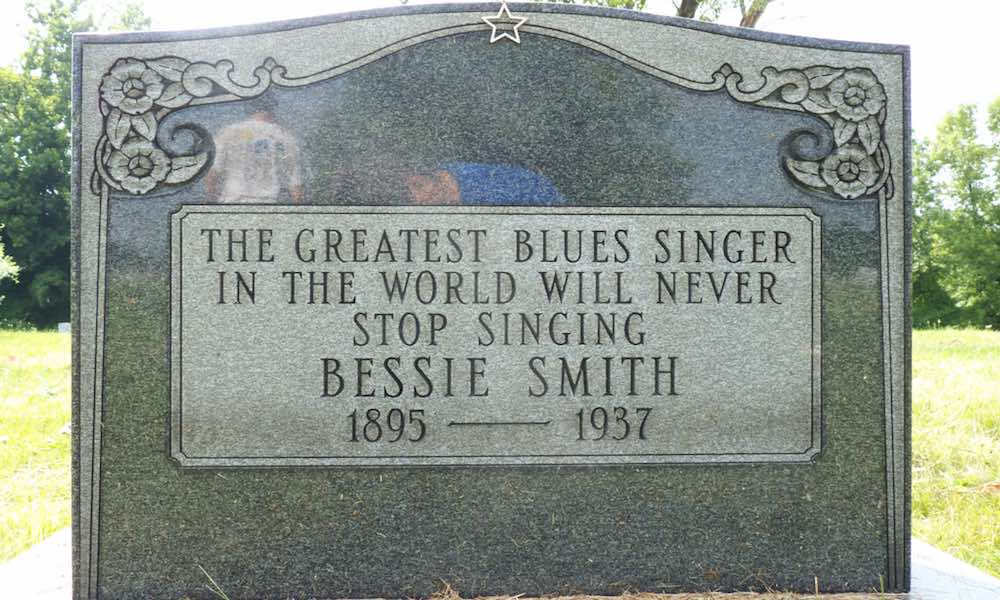 Bessie Smith Tombstone Paid for by Janis Joplin
