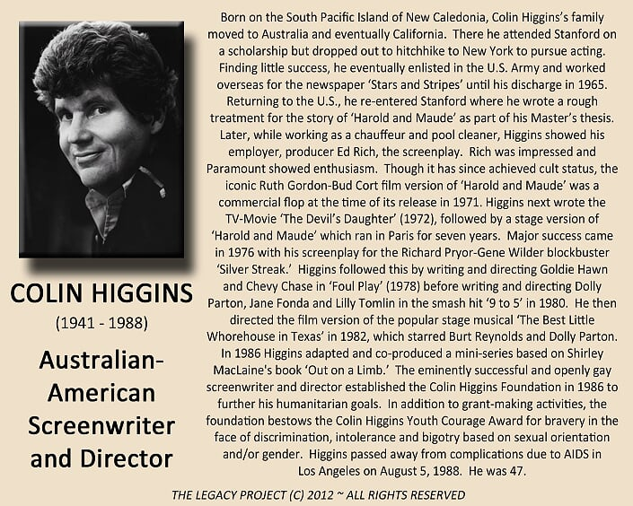 Colin Higgins Biography