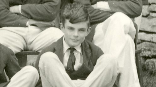 Alan Turing as a Youth