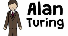Alan Turing by Pop'n'Olly