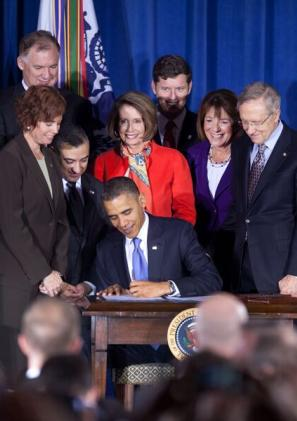 President Barack Obama Signing Bill Repealing Don't Ask, Don't Tell