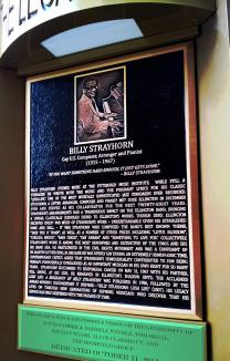 Billy Strayhorn Bronze Memorial