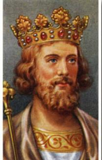 King Edward II Portrait