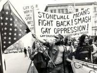 March Following Stonewall Riot