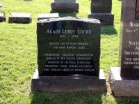Alain Locke Tombstone at the Congressional Cemetery