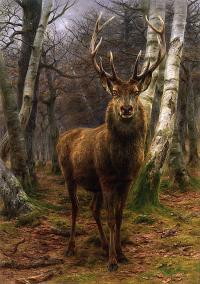 Rosa Bonheur's King of the Forest (1878)