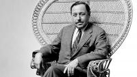 Tennessee Williams Relaxing in a Chair