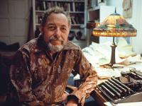 Tennessee Williams in Key West, Florida in 1981
