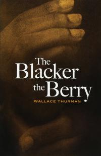 Wallace Thurman The Blacker the Berry Book Jacket